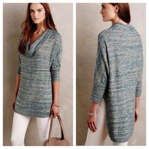 Field Flower | Space Dye Cowl Neck Tunic Sweater